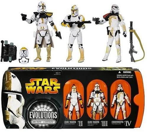 Hasbro Star Wars Evolution CLONETROOPER