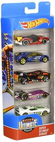 Hot Wheels Assortment Cars, 5 Count