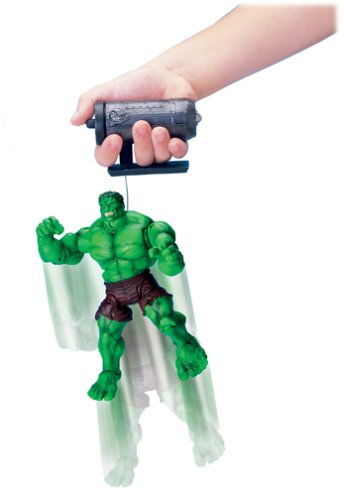 "Hulk: Super-Poseable Leaping Hulk 6.5"" Action Figure by Toy Biz"