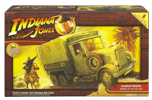 Take Indiana Jones (figures sold separately) on a wild ride that mimics the thrilling movie scene!