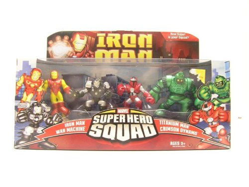 Iron Man Superhero Squad Battle Pack & Heroes - Villains Action Figure Multi-Pack