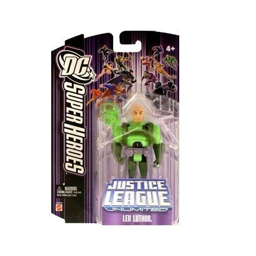Justice League Unlimited Lex Luthor with Kryptonite Action Figure