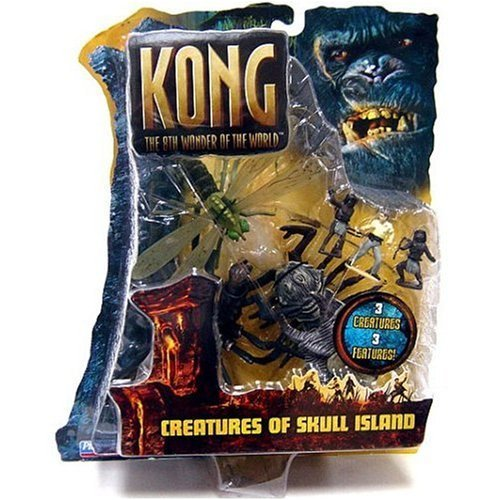 King Kong 8th Wonder of the World : Creatures of Skull Island