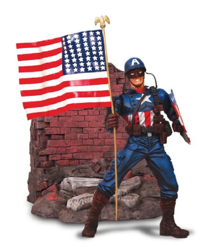 Marvel Select - Captain America - Special Collector Edition Action Figure - Steve Rogers - Mint - Collectible - (I)