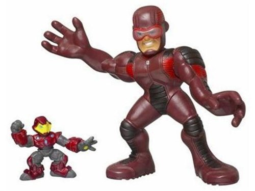 Marvel Super Hero Squad Giant Man and Iron Man Mega Size Pack Action Figure Set