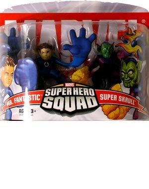 Marvel Super Hero Squad Mr. Fantastic & Super Skrull