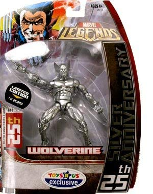 "Toys ""R"" Us Exclusive Marvel Legends 25th Silver Anniversary Wolverine"