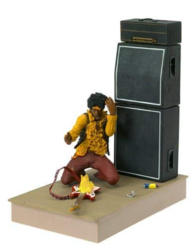 "McFarlane: 7"" Jimi Hendrix at Monterey Pop Festival Action Figure"