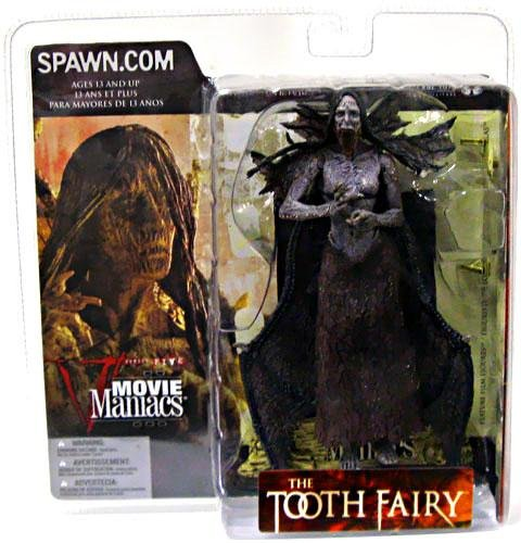 McFarlane - Movie Maniacs - Series 5 - The Tooth Fairy/Darkness Falls - Tooth Fairy feature film figure (Open Mouth Variant) w/accessories