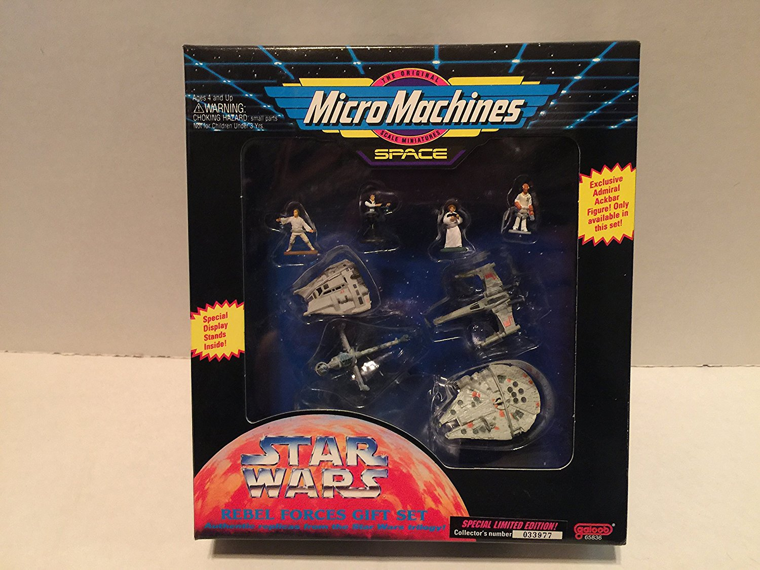 Micro Machines Star Wars Rebel Forces Gift Set