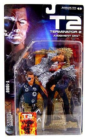 Movie Maniacs 4: Terminator 2 T-1000 Action Figure