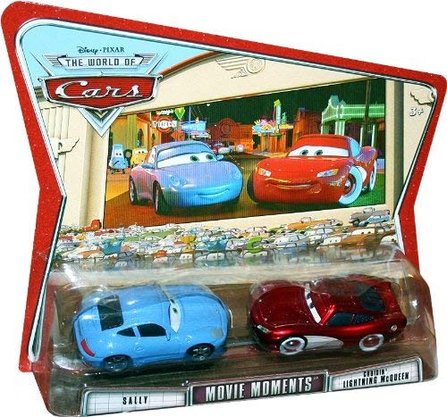 SALLY AND CRUISIN' LIGHTNING MCQUEEN Disney / Pixar CARS 1:55 Scale Vehicle 2 Pack