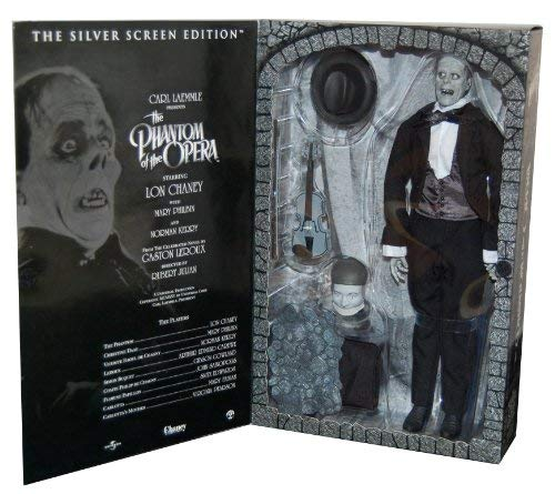 "Phantom of the Opera, Sideshow 12"" figure, Silver Screen Edition"
