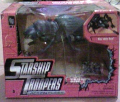 RARE! Starship Troopers Action Fleet Tanker Bug Vs. Johnny Rico & MI Trooper