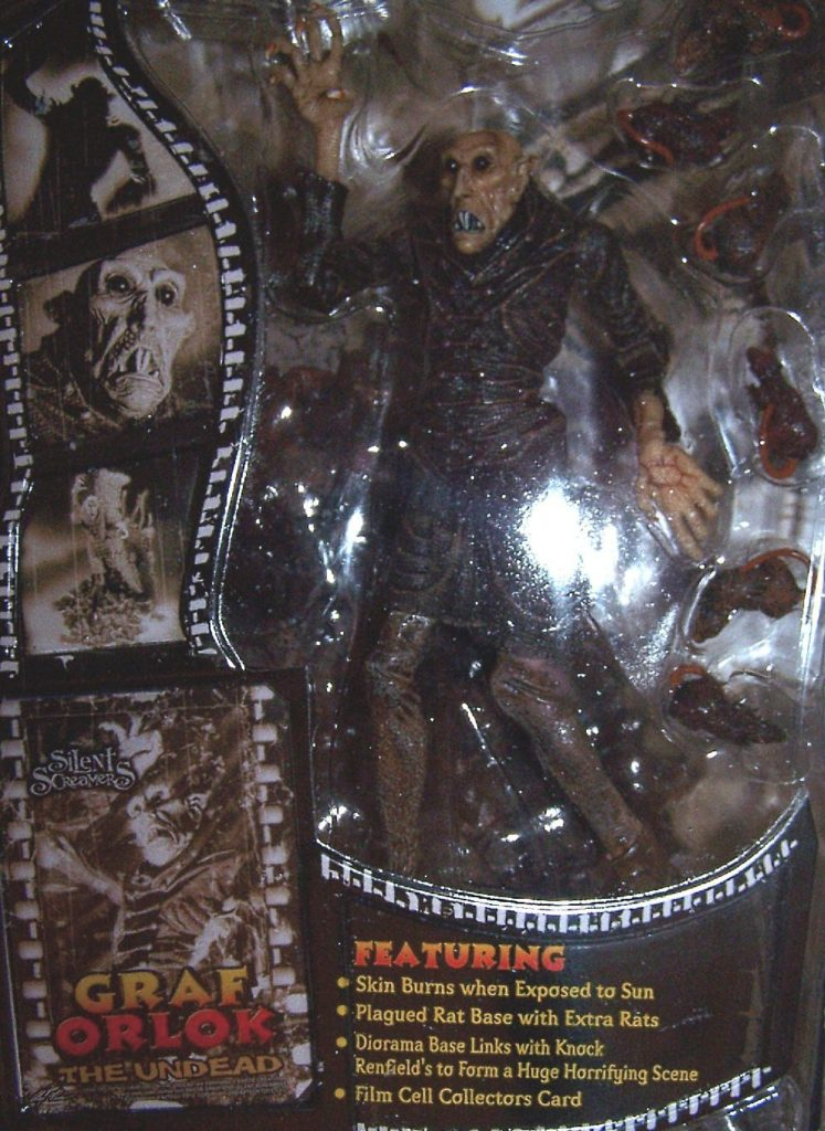 Silent Screamers Series 1 Nosferatu (1922 ) Graf Orlok the Undead Collectible Figure