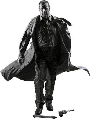 Sin City Series 1 Hartigan (Black and White) Action Figure
