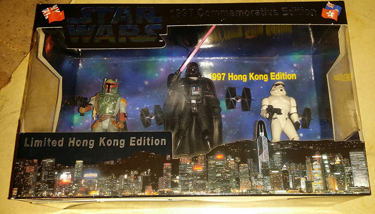 Star Wars - 1997 Limited Hong Kong Commemorative Edition I - Heroes Edition