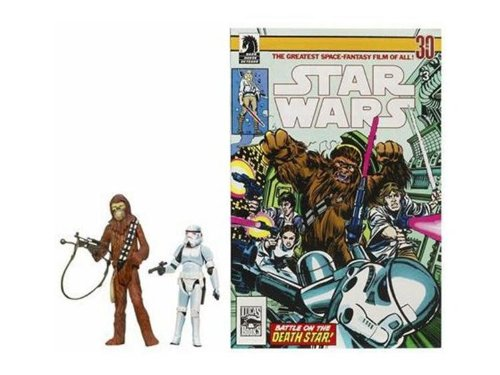 Star Wars 3.75 Expanded Universe Han Solo & Chewbacca