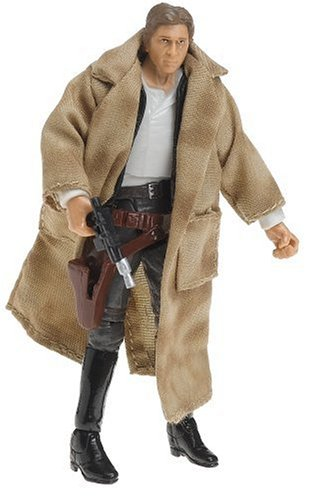 Star Wars 3.75 Vintage Endor Han Solo Figure