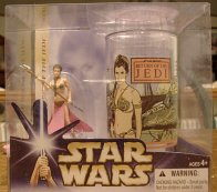 Star Wars Action Figure and Collectible Cup Set