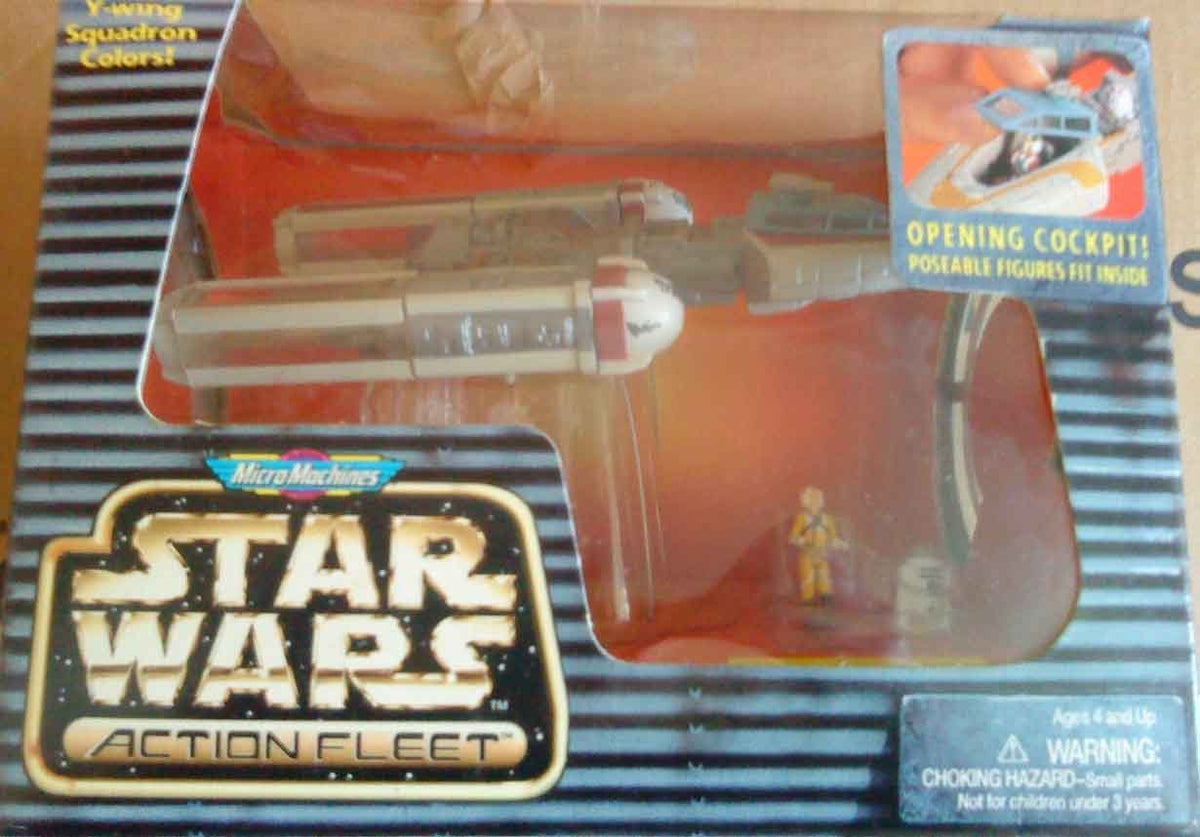 Star Wars Action Fleet Y-Wing Red Variation