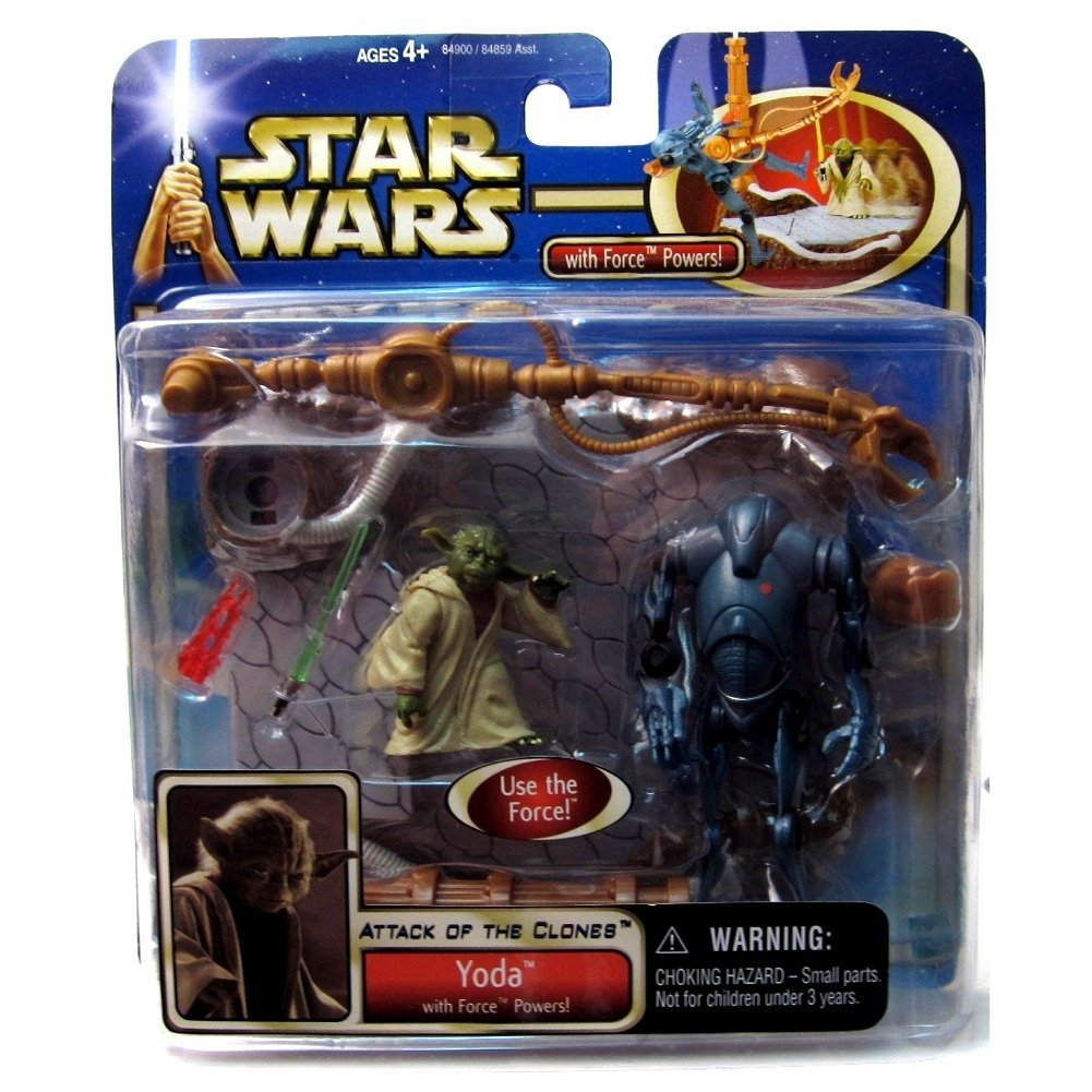 Qiyun Star Wars Deluxe Yoda with Force Powers Super Battle Droid 076930849002
