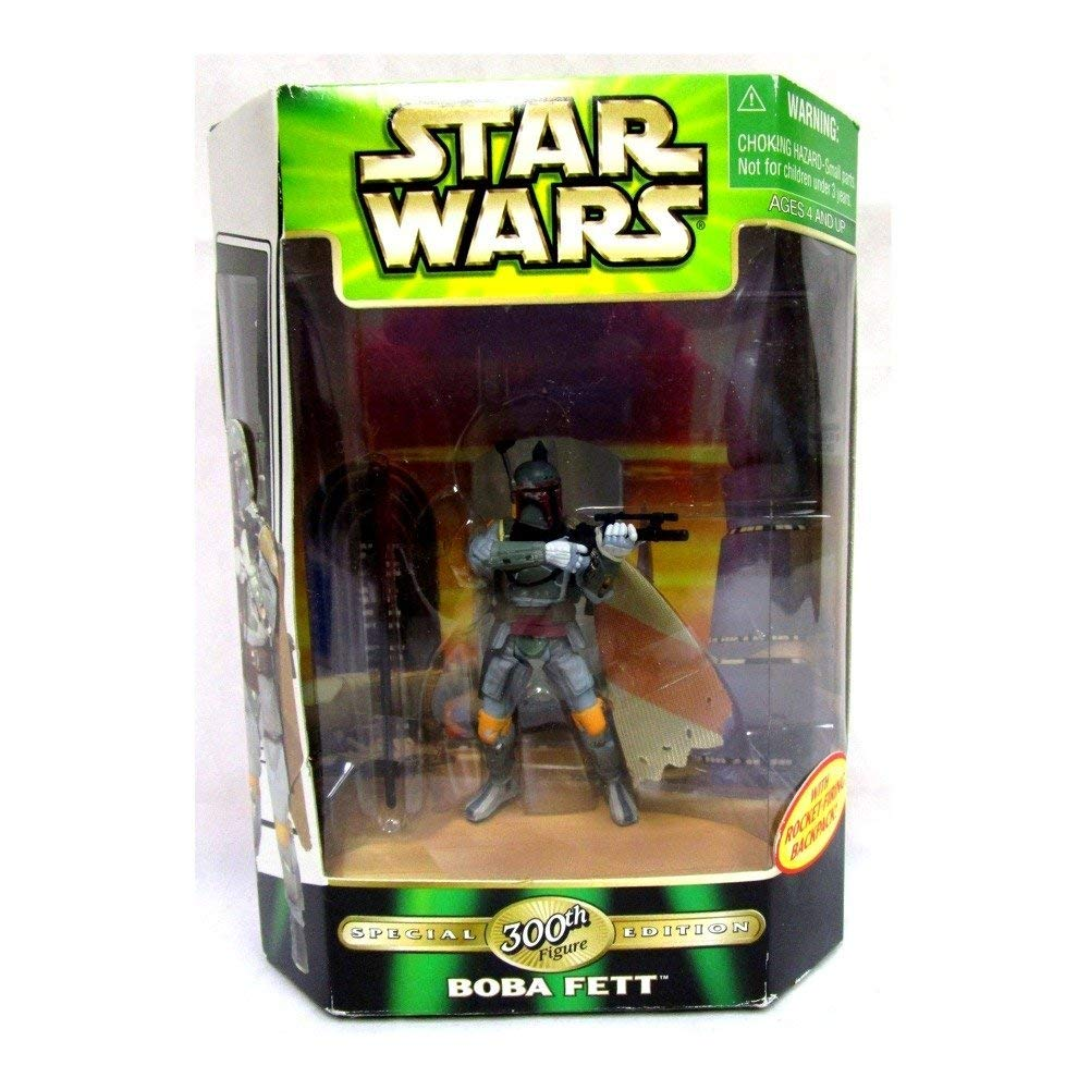 Star Wars-Boba Fett 300th w/Rocket backpack (.0100)
