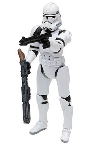 Star Wars - Revenge of the Sith Clone Trooper (Quick-Draw Attack!) (Red) Shock Trooper