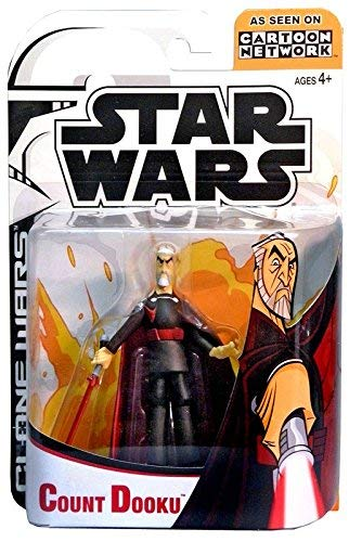 Star Wars: Clone Wars Count Dooku w/Light Saber (as seen on Cartoon Network)