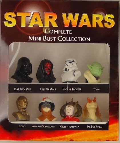 Star Wars Complete Mini Bust Collection