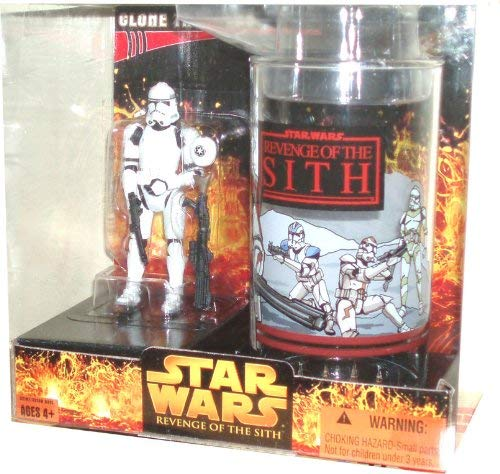 Star Wars Cup and Figure Clone Troopers