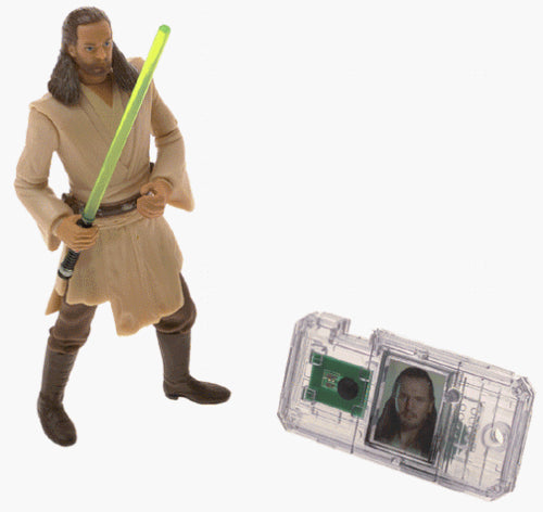 Star Wars Episode I: The Phantom Menace, Qui-Gon Jinn (Jedi Duel) Action Figure, 3.75 Inches