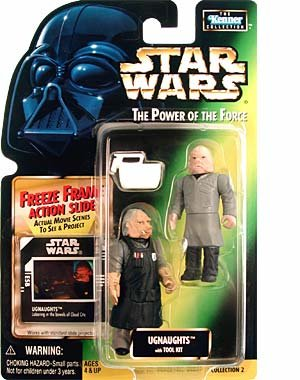 Star Wars Freeze Frame Ugnaughts Action Figures