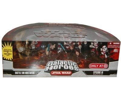Star Wars Galactic Heroes Mini Figure Battle on Mustafar Multi-Pack