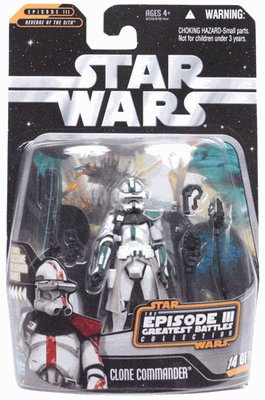 Star Wars Greatest Hits Basic Figure Episode 3 Clone Commander
