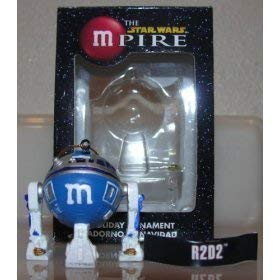 Star Wars Mpire R2D2 Blue M&M Ornament