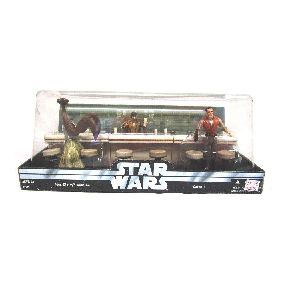 Star Wars: Original Trilogy Collection > Mos Eisley Cantina w/ Dr. Evazen Wuher and Kitik Keedkak Action Figure Multi-pack