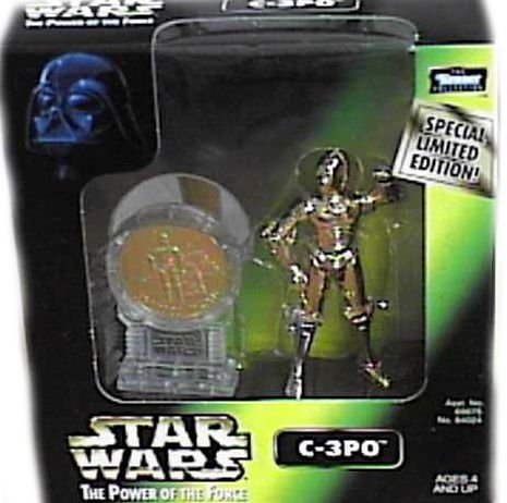 Star Wars POTF2 Millennium Coin Series - C-3PO