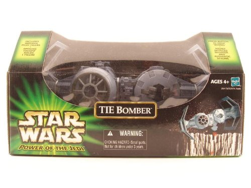 Star Wars Power Of The Jedi Tie Bomber With Tie Pilot