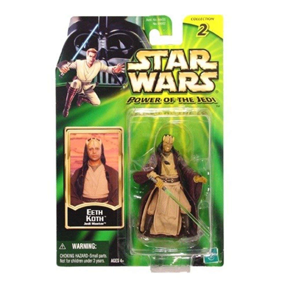 Star Wars: Power of the Jedi Eeth Koth Action Figure