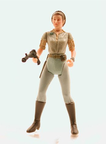 Star Wars: Power of the Jedi Leia Organa (General) Action Figure
