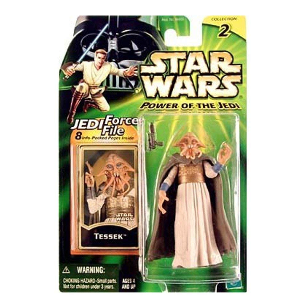 Star Wars, Power of the Jedi, Tessek Action Figure, 3.75 Inches