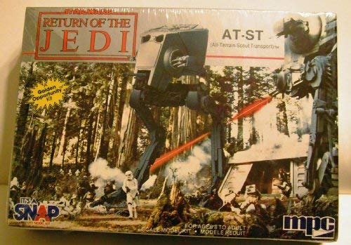 Star Wars Return of the Jedi At-st Model By MPC