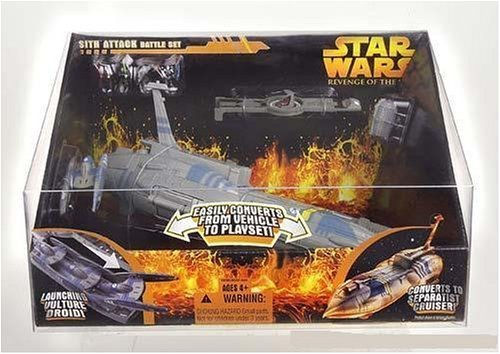 Star Wars Revenge of the Sith Micro Machines Sith Attack Battle Set