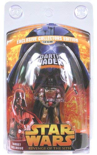 Star Wars Revenge of the Sith Target Exclusive Lava Darth Vader 1 0f 50000