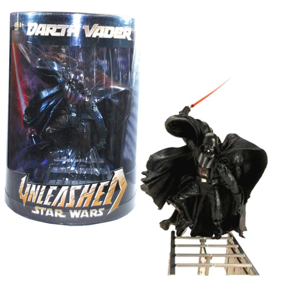 Star Wars Revenge of the Sith Unleashed Darth Vader Action Figure