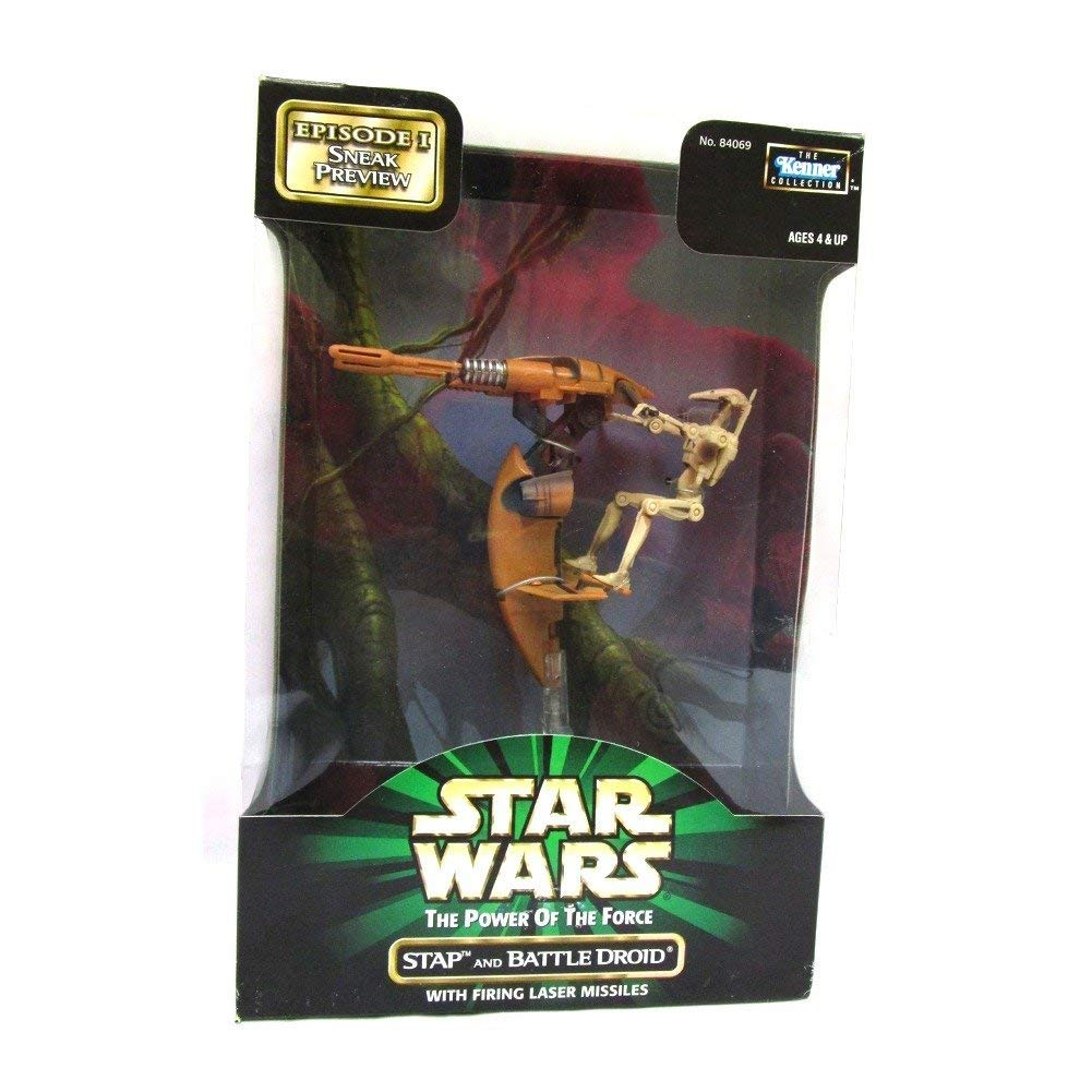 Star Wars STAP and Battle Droid Action Figure POTF
