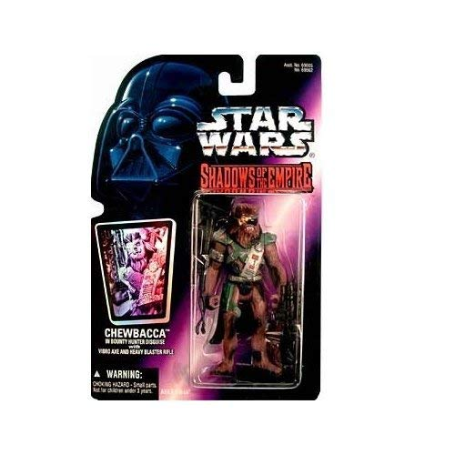 Star Wars Shadows of the Empire Chewbacca in Bounty Hunter Disguise Action Figure