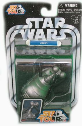 Star Wars Star Tours MSE-1T Droid Action Figure
