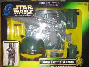 Star Wars ( Star Wars ) Boba Fett's Armor Playset Figure Toy doll ( parallel imports )